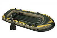 Надувная лодка Intex 68351 Seahawk 4 Set (4 местная)