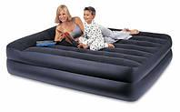 Надувная кровать Intex 66702 Queen (152х208х47 см) с электронасосом