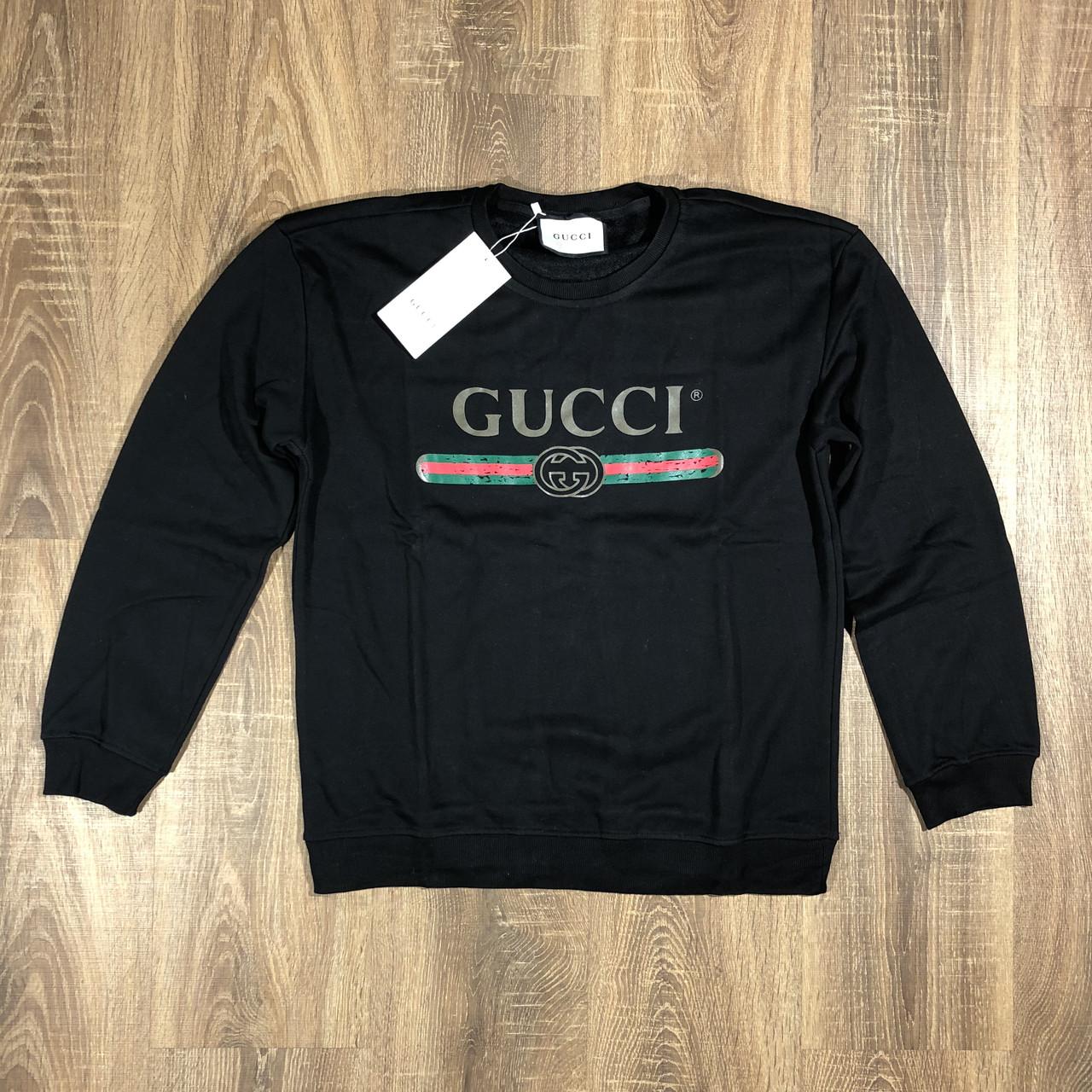 1564443b99a2 Мужской Свитшот Gucci Гучи (реплика) — в Категории