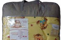 Одеяло стеганое шерстяное зимнее Детское 140*100 Viluta Чехол Хлопок 100%, фото 1