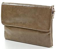Женская кожаная сумка клатч планшет Pretty Women