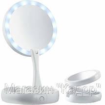Складное зеркало с подсветкой Fold Away, фото 2