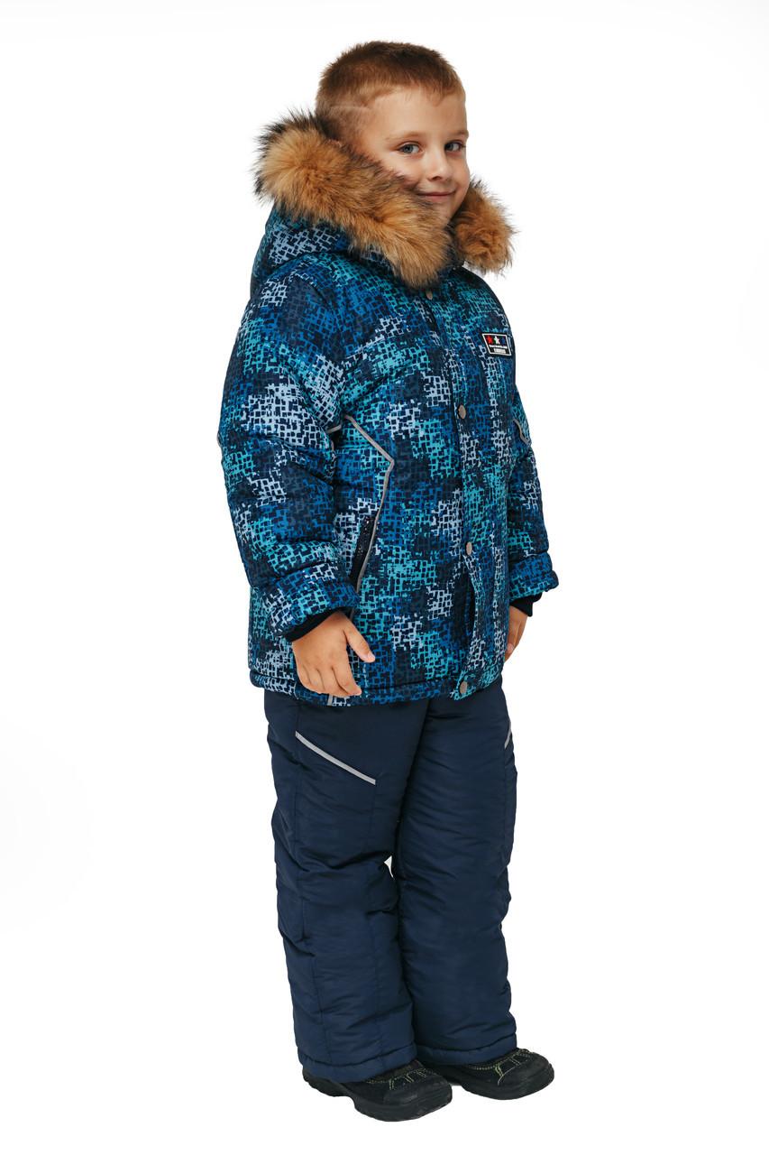 Зимовий комбінезон для хлопчика від виробника 26-32