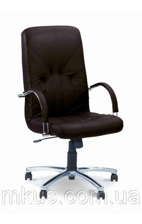 Кресло Менеджер для руководителей стиль хром