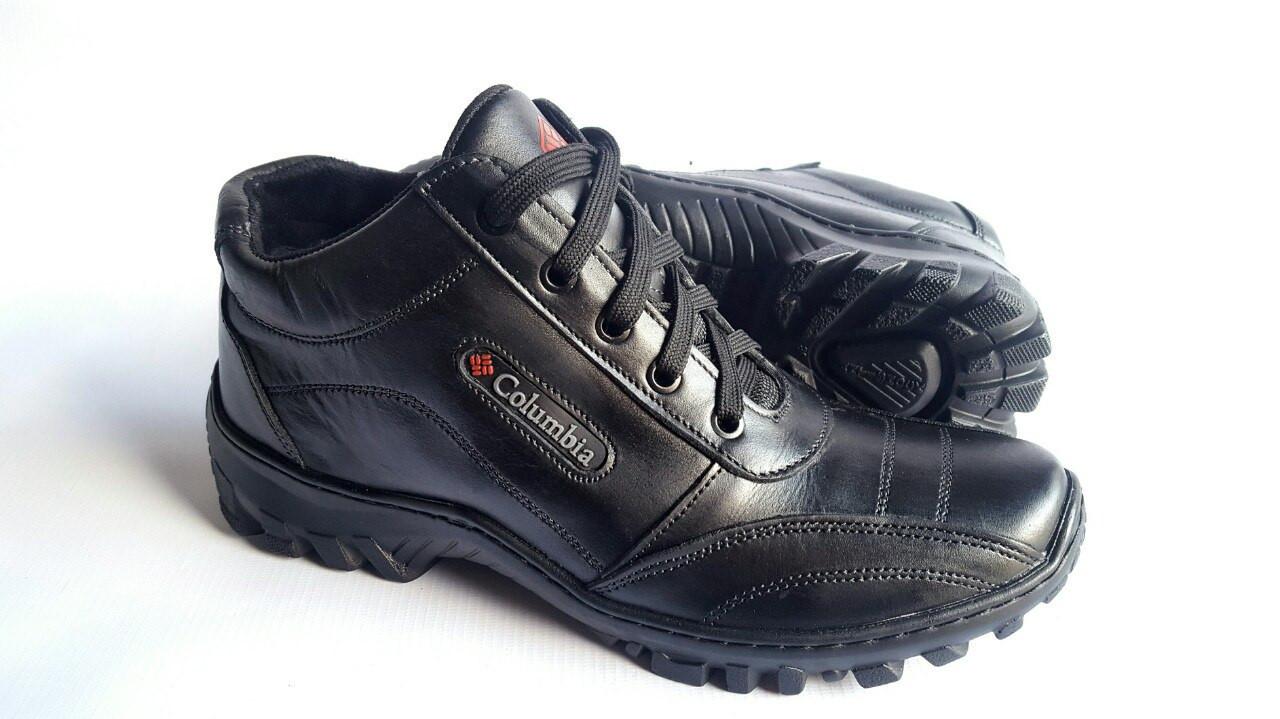 6f43b4dbda5d Мужские зимние кожаные ботинки Columbia ZK Antishok Winter  продажа ...