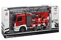 Машинка на радиоуправлении Same Toy Пожарная машина Mercedes-Benz с лесницей (E527-003)