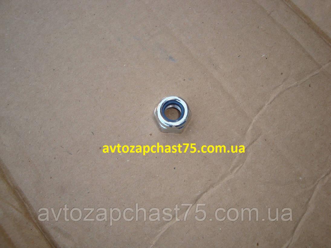 Гайка болта крепления механизма рулевого ваз 2121, 2101,  М10х1,25 H12  (комплект 10 штук)  Белебей, Россия