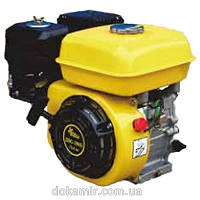 Бензиновый двигатель Кентавр ДВС-200Б3Р шкив на 3 ручейка