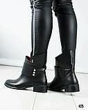 Повседневные женские демисезонные ботинки (кожа), фото 3
