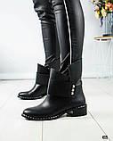 Повседневные женские демисезонные ботинки (кожа), фото 5