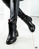 Повседневные женские демисезонные ботинки (кожа), фото 6