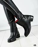 Повседневные женские демисезонные ботинки (кожа), фото 2