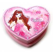 Музыкальная шкатулка для девочки Сердечко