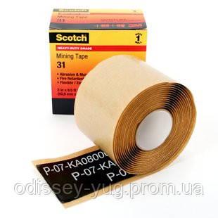 Универсальная лента 3M™ Scotch 31. Мастичная лента. 50 мм x 2,6 м. Для горнодобывающей отрасли