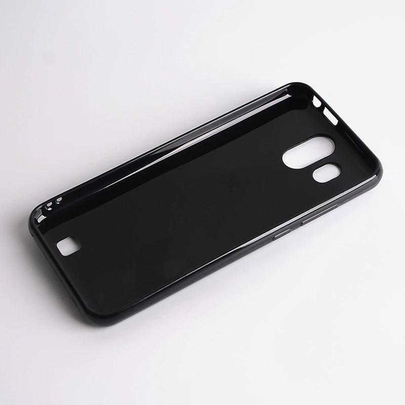 Силиконовый чехол, бампер для Homtom S16 Черный / Стекло оригинал в наличии /