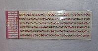 Камінчики клейові на аркуші 6206, фото 1