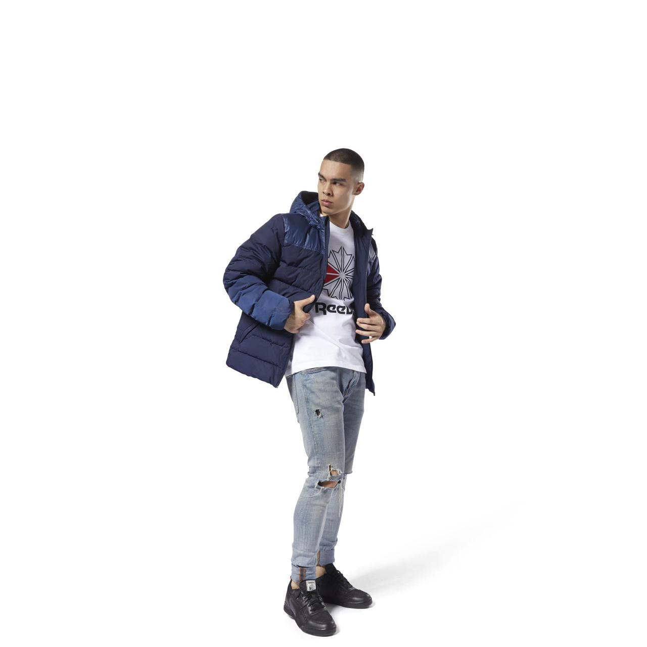 a1b62b89 Мужская куртка Reebok F Down Mid Jacket : продажа, цена в Харькове ...