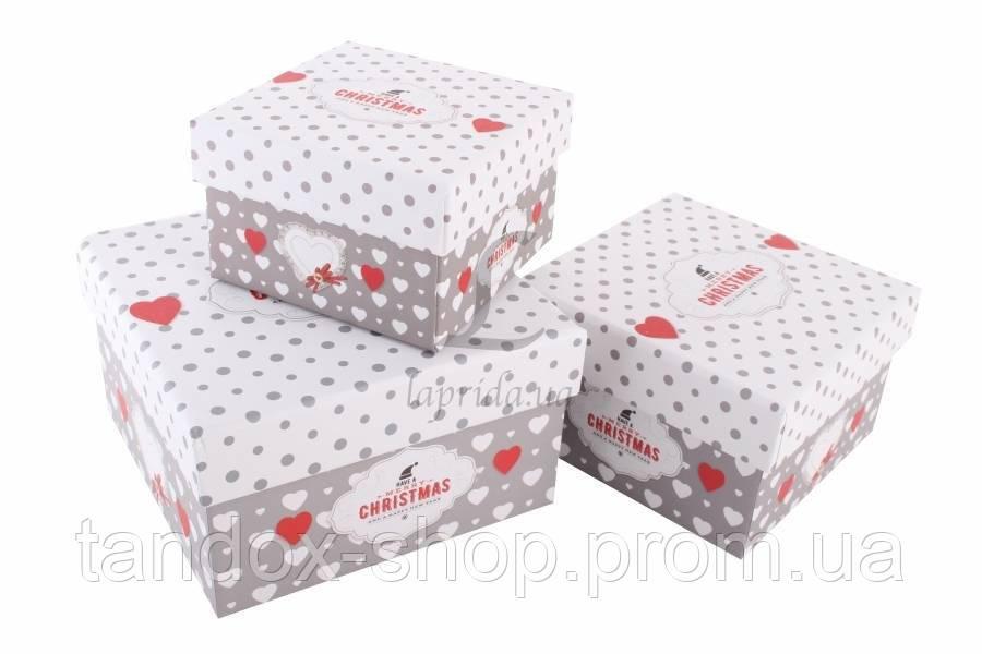 Подарочная коробка новогодняя