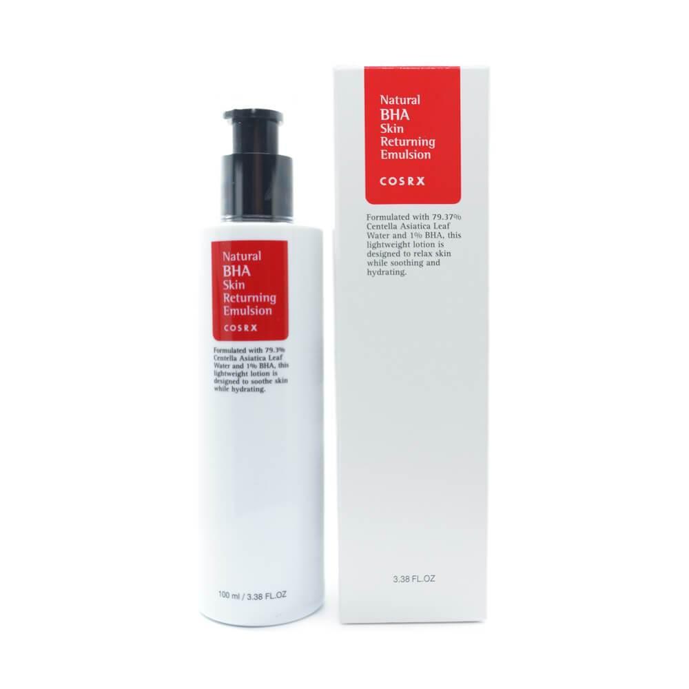 Эмульсия для жирной и комбинированной кожи с BHA-кислотами COSRX Natural BHA Skin Returning Emulsion