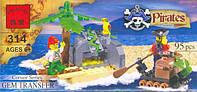 Конструктор пираты BRICK (314)
