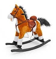 Качалка-лошадка Milly Mally Mustang Светло-коричневая (0073)