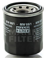 Фильтр масляный Mann MW 68/1 для мотоциклов KTM
