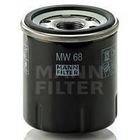 Фильтр масляный Mann MW 68 для мотоцикла Kawasaki GPZ500S / KLE500