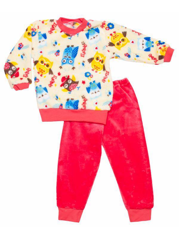 Пижама домашний комплект для девочки махровый