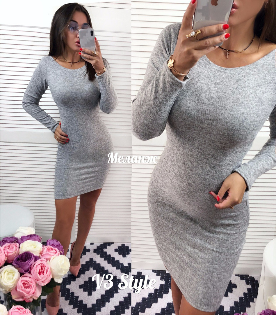 Женское платье ангора