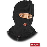 Шапка-маска с двумя отверстиями для губ и глаз CZKOM B