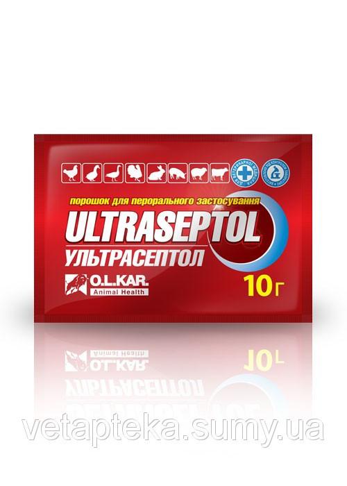 Ультрасептол 50 г (O.L.KAR.) порошок антибиотик для животных и птицы