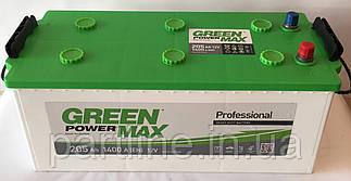 Аккумулятор Грузовой 6СТ-195 (ГАРАНТИЯ 2 ГОДА) Green Power MAX (Пусковой ток 1300 En, 513х217х223)