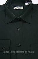 Мужская рубашка классическая чёрная