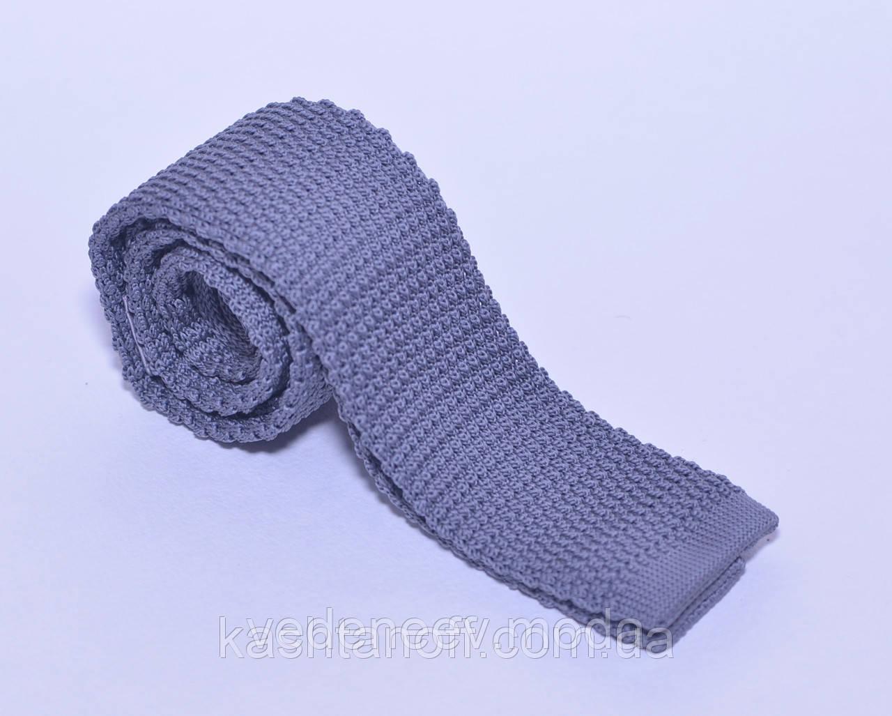 Вязанный галстук