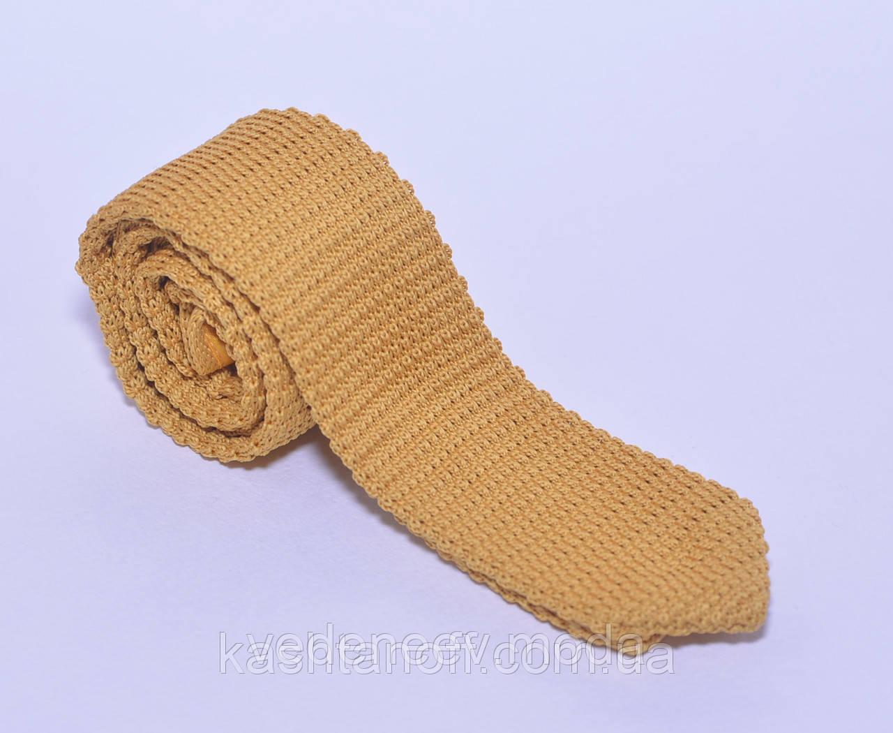 Вязанный молодёжный галстук