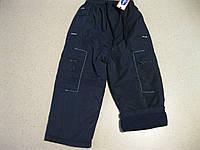 Детские  зимние ,теплые брюки с подкладкой  на флисе для мальчика 3-4