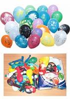 Шарики с различными рисунками (ассорти)  Воздушные шарики оптом