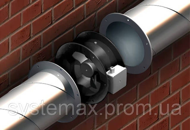 Промышленный осевой канальный вентилятор ВЕНТС ВКФ 4Е 350 (для круглых каналов)