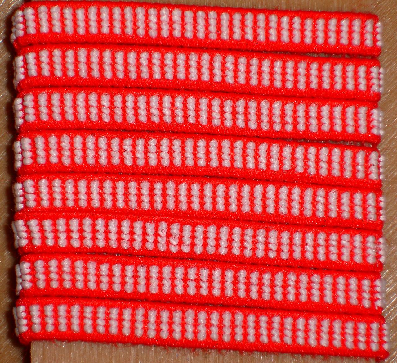 Резинка обувная текстильная 0.6 см метражная в боббинах