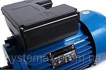 Электродвигатель однофазный АИРЕ80С2 (АИРЕ 80 С2) 2,2 кВт 3000 об/мин - АИРЕ80В2 или АИР80С2, фото 2