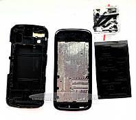 Корпус Nokia 5800 бордовый с клавиатурой копия ААА