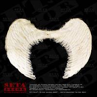 Крылья ангела белые карнавальные