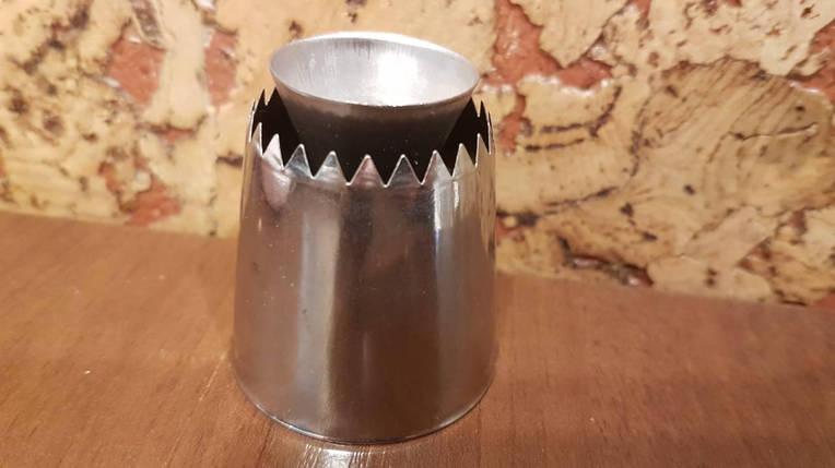 Насадка кондитерская метал. Султан №2, фото 2