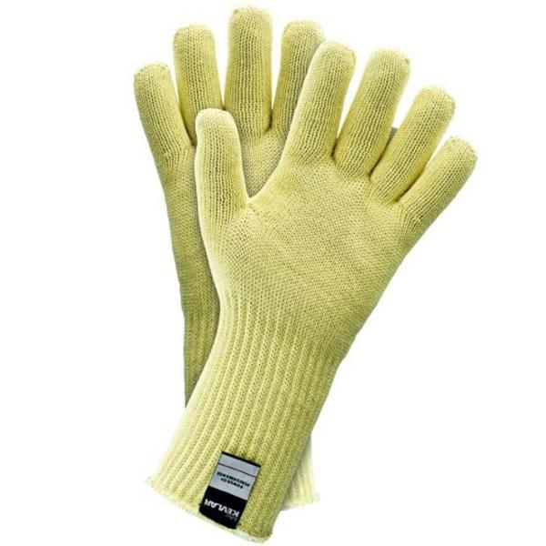 Трикотажные-тканевые перчатки