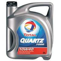 Олива напівсинтетична TOTAL QUARTZ D 7000 10W40 1L
