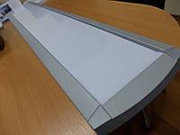 Светильник PXF MONZA II 2x28W T5 OPAL, фото 1