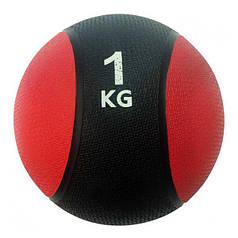 Мяч (медбол) гимнастический, медицинский Rising 1,0 кг