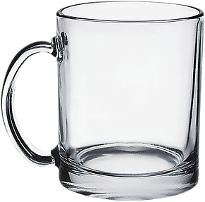 Кружка чайная стеклянная 340 мл, фото 2
