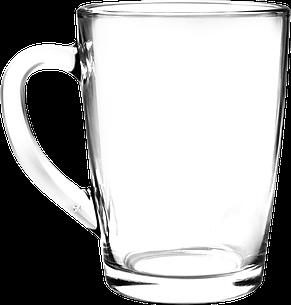 Кружка стеклянная для чая 300 мл, фото 2