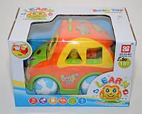 Интерактивная игрушка-сортер Baby Toy learn multi-car music learning YNA/43-5